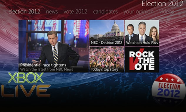 """Microsoft To Launch """"Election 2012 Hub on Xbox LIVE"""" 1"""