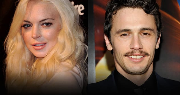 images James Franco  Lindsay Lohan -Featured