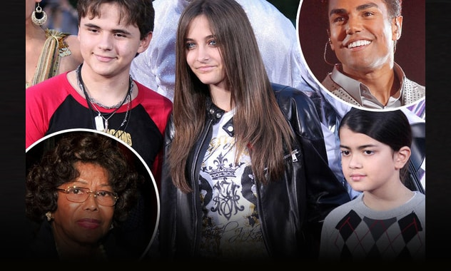 Battle for Michael Jackson Kids Over, Katherine and T.J. to Share Custody of Prince, Paris and Blanket 2