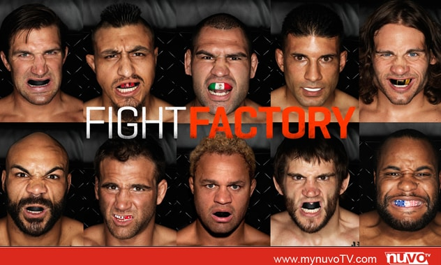 FIGHT FACTORY Hits nuvoTV on August 15 at 10 PM (ET/PT)