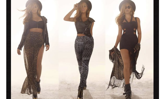 Beyoncé Models for House of Dereon Ad Campaign, Looks Terrifyingly Fierce