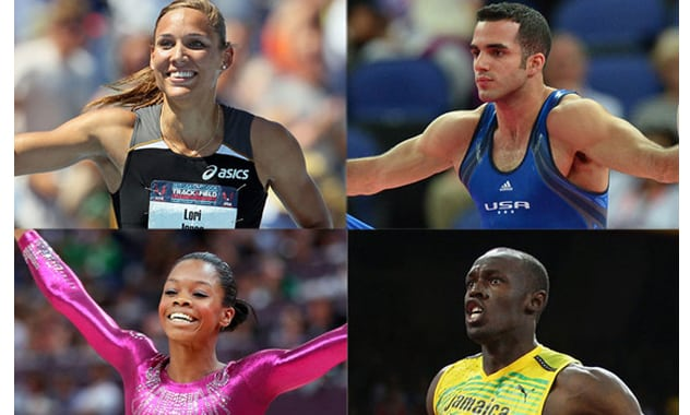 Olympic Preview: Gabby Douglas and Danell Leyva Take Another Shot at Gold, Usain Bolt and Lolo Jones Take on the Heats