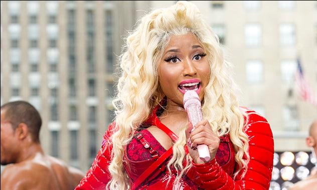 Nicki in Pepsi v. Coke clash
