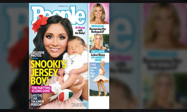 Snooki's Baby, Lorenzo, Makes His Debut In People Magazine