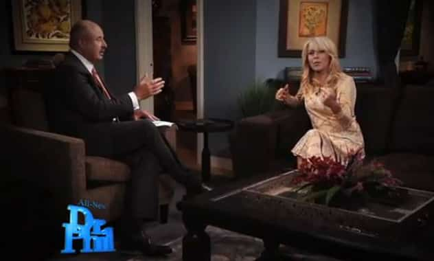 Dr. Phil Calls Out Dina Lohan's Odd Behavior During One-on-One Interview