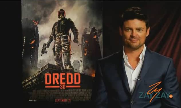 Dredd 3D - Karl Urban Interview