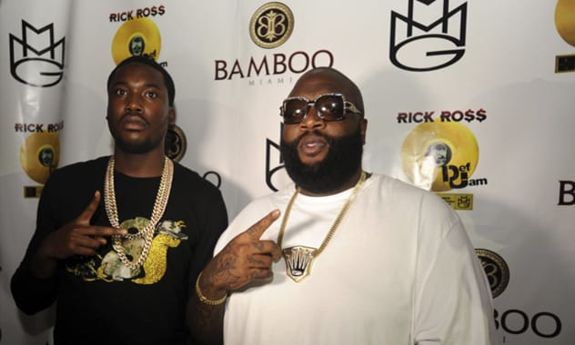 Rick Ross Celebrates Gold at Prestige Sundays in Bamboo Miami Beach, the NEW South Beach