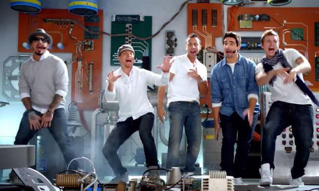 The Backstreet Boys Are Back… For Old Navy