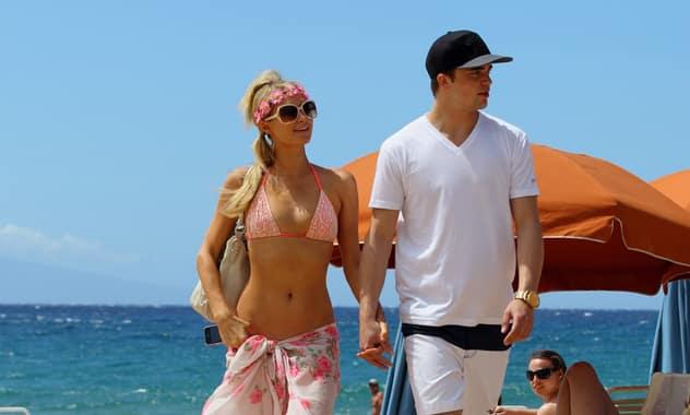 Paris Hilton Runs Off To Hawaii With Spanish Boyfriend