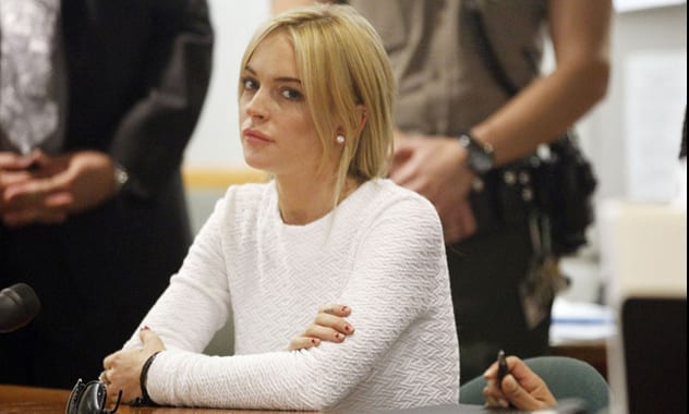 Lindsay Lohan Arrested After Fleeing Scene Of Accident In NYC