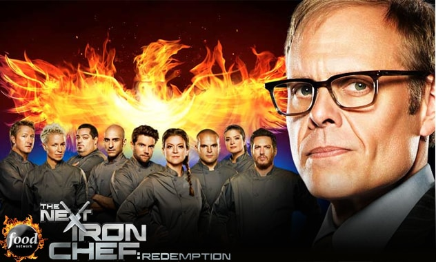 Chefs Return For Second Chance At The Ultimate Culinary Title In Food Network Primetime Event The Next Iron Chef: Redemption