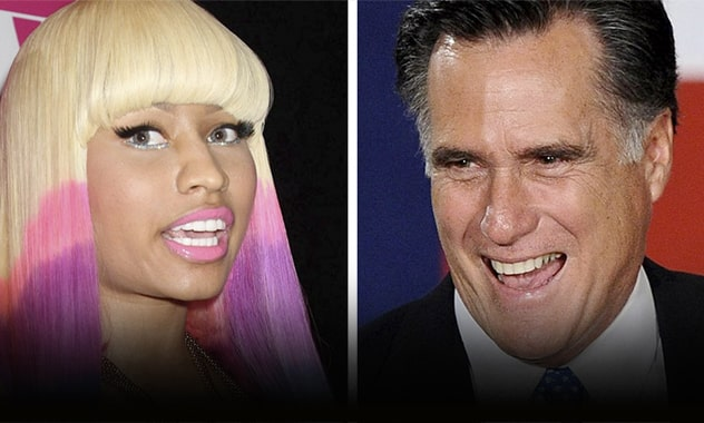 Nicki Minaj & Romney? Rapper Appears To Endorse Republican In New Song  2