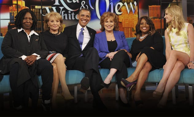 Obamas Heads To 'The View' For First Joint Appearance 1