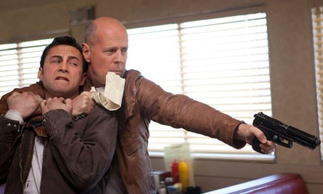 Toronto Film Festival Opens: Joseph Gordon-Levitt Gets a Bruce Willis Makeover