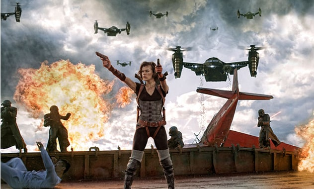 Five Reasons Resident Evil: Retribution's Milla Jovovich Is the Coolest Female Action Star