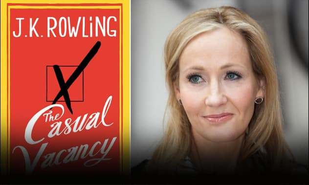 J.K. Rowling's New Book: Not Your Kid's Harry Potter 1