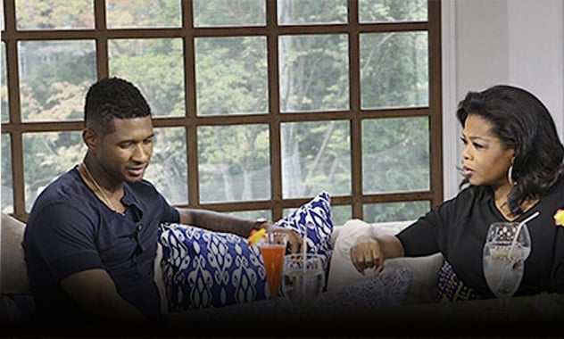 Usher's First And Last Interview About The Custody Battle With His Ex-Wife On 'Oprah's Next Chapter'  1