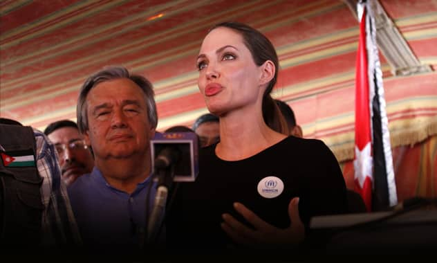 Angelina Jolie Hears Syrian Refugee Accounts, Expresses Dismay At 'Heartbreaking' & 'Horrific' Stories 2
