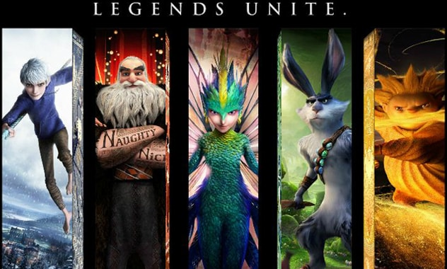 RISE OF THE GUARDIANS Trailers