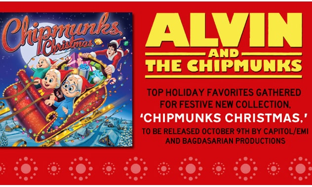 """Movie Classic """"Chipmunks Christmas"""" to be released October 9th 1"""