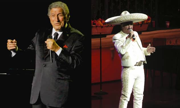 Tony Bennett Joins Vicente Fernandez On His Farewell Tour
