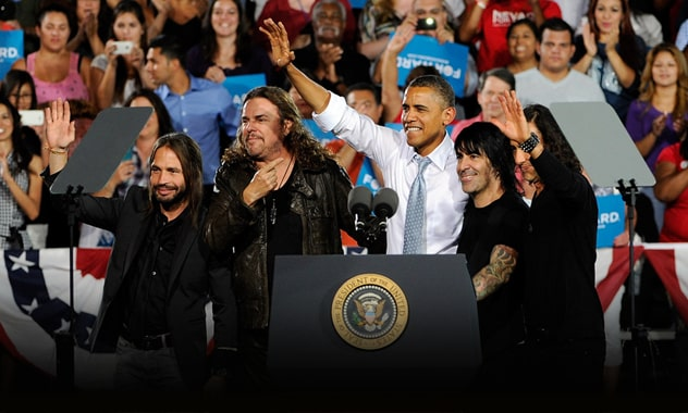 Maná, Mexican Superstar Rock Band, Endorses President Obama At Las Vegas Event, Look To Spur Hispanic Voter Registration  2