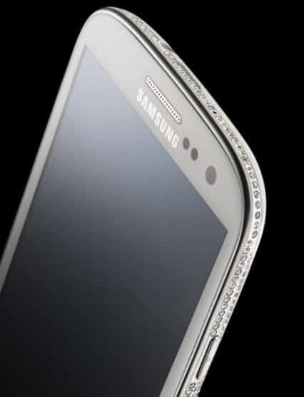 Crystal encrusted Samsung Galaxy S III Swarovski Edition by Amosu Couture 3