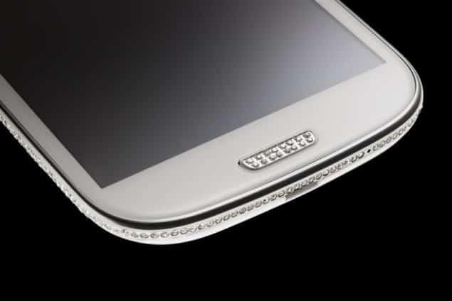 Crystal encrusted Samsung Galaxy S III Swarovski Edition by Amosu Couture 4