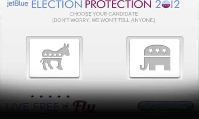 JetBlue Election Protection 2012  1