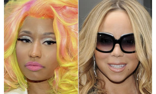 Nicki Minaj Denies Mariah Carey Gun Threats, Calls Singer 'Shady McGrady'