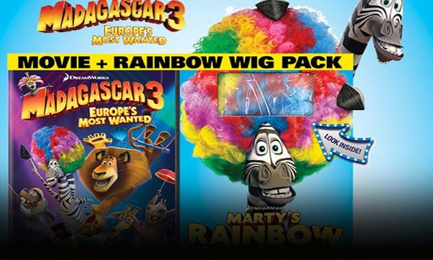 Madagascar 3 DVD/Miami Zoo Event 1