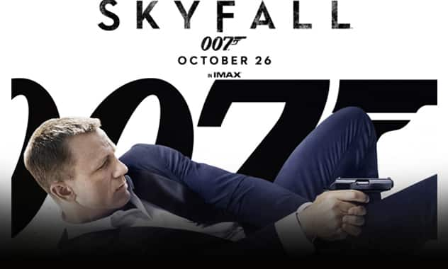 Closed--SKYFALL SCREENING VIP TICKET GIVEAWAY--Closed