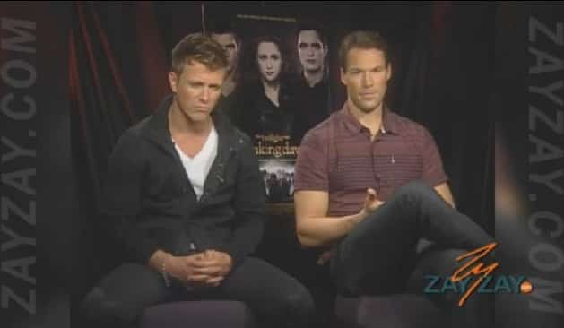 The Twilight Saga: Breaking Dawn - Part 2 - Daniel Cudmore & Charlie Bewley - ZayZay.Com  2