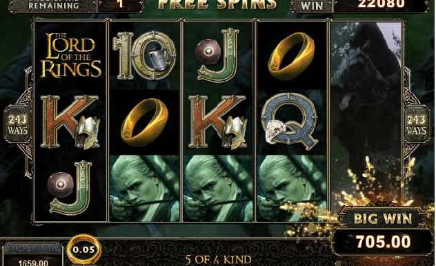 Warner Bros. Sued For $80 Million Over 'Lord Of The Rings' Slot Machine
