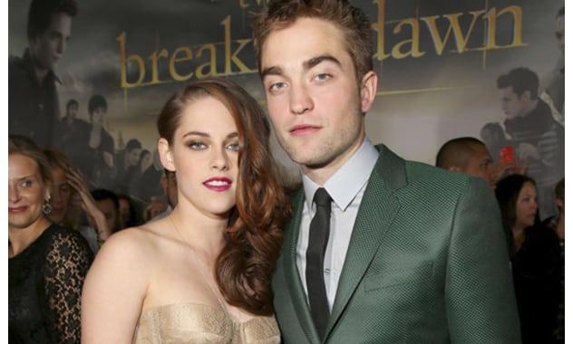 Kristen Stewart, Robert Pattinson Back Together On The Red Carpet At 'Breaking Dawn - Part 2' Premiere