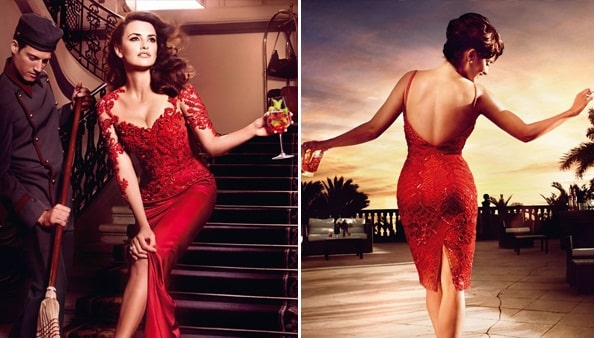 Penelope Cruz Flaunts Red Hot Curves for New Campari Campaign: 16 Sexiest Celebrity Ads 2