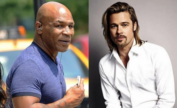 Mike Tyson & Brad Pitt's Love Triangle: Boxer Talks Finding Actor In Bed With Ex-Wife Robin Givens