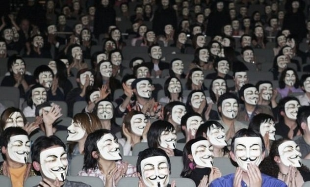 Suprising Impact On The Airing Of 'V For Vendetta' Airs In China
