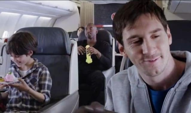 Kobe Bryant/Lionel Messi Ad Becomes A Viral Smash