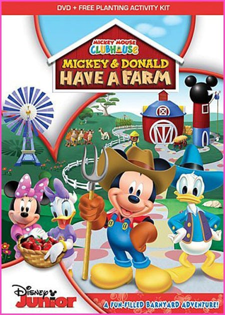 THE MICKEY MOUSE CLUBHOUSE: MICKEY AND DONALD HAVE A FARM DVD GIVEAWAY