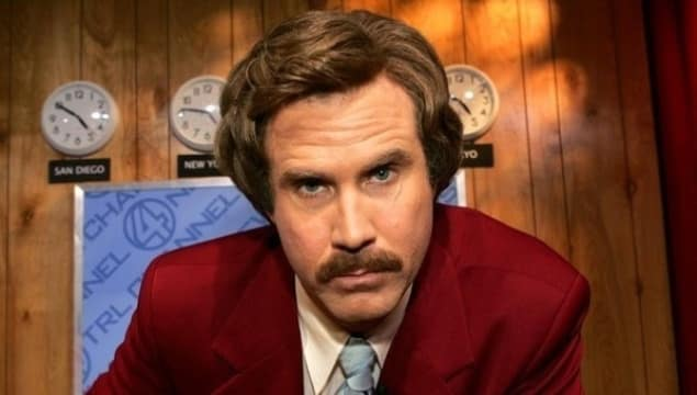 Ron Burgundy Returns In Anchorman 2 December 2013