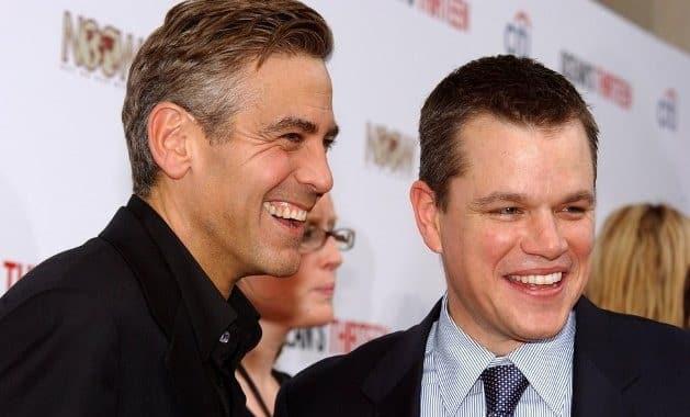 Matt Damon & George Clooney Reunite For 'Monuments Men'
