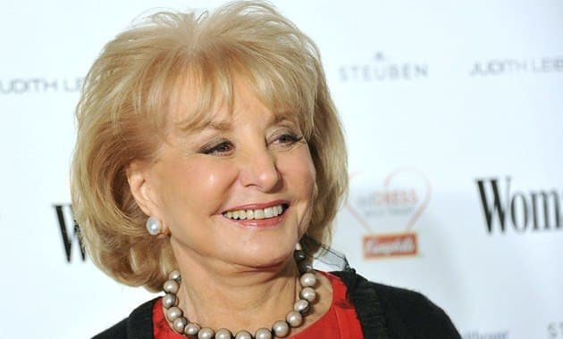 Barbara Walters Home From Hospital After Treatment for Chicken Pox, Head Injury