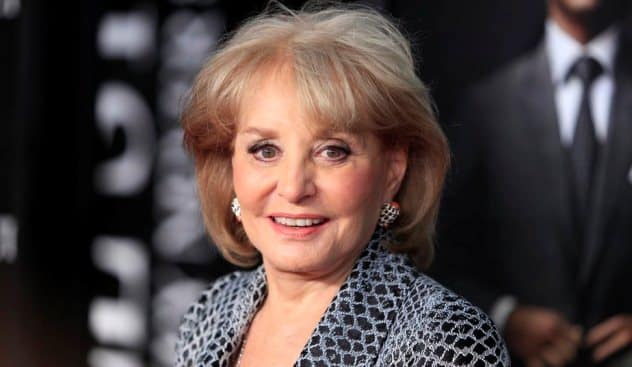 Barbara Walters Hospitalized After Falling Down Flight Of Stairs
