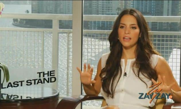 The Last Stand -Interview With Genesis Rodriguez - ZayZay.Com