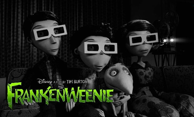 FRANKENWEENIE DVD Release - January 8