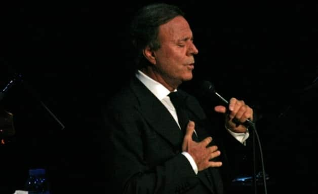 Julio Iglesias Performs In Haiti With President Michel Martelly