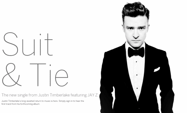 Justin Timberlake's 'Suit & Tie' Breaks Billboard Records