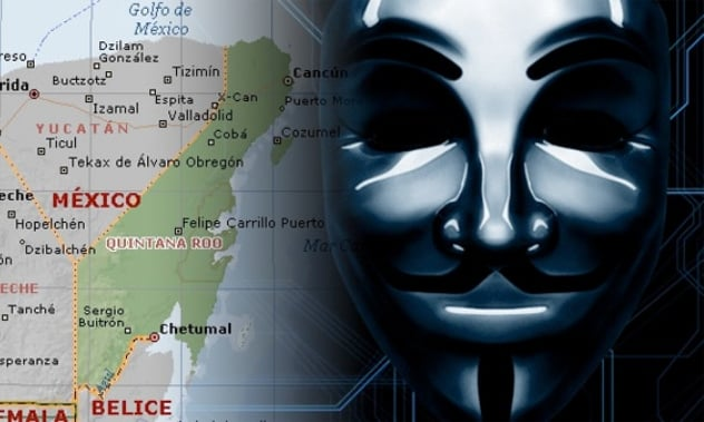 Anonymous Launches Attack Against Dragon Mart In Cancun