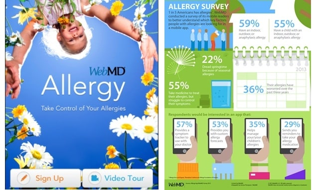 There's An APP for That: WebMD Introduces New Allergy App for iPhone 2